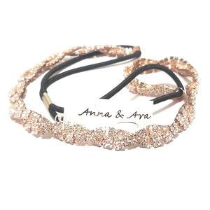 Anna & Ava Braided Rhinestone Headband
